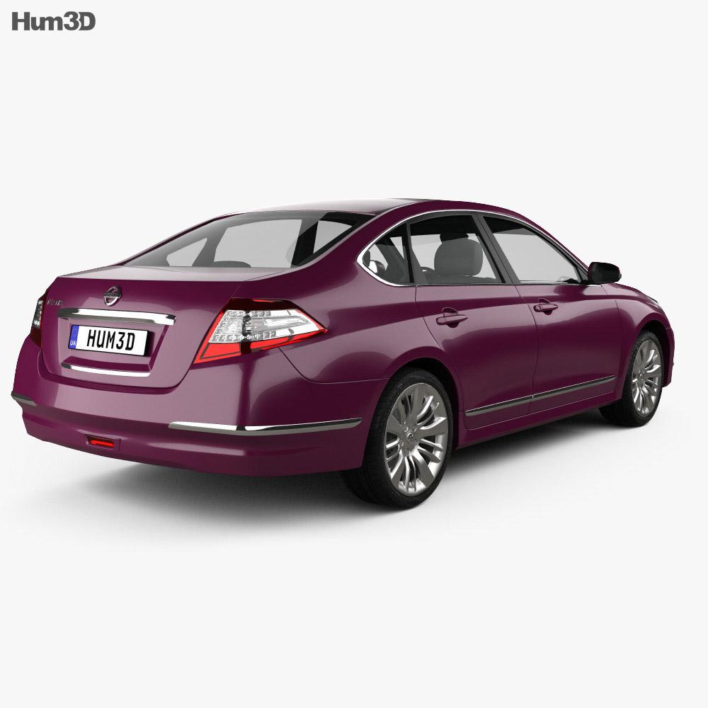 Nissan Teana (J32) 2012 3d model