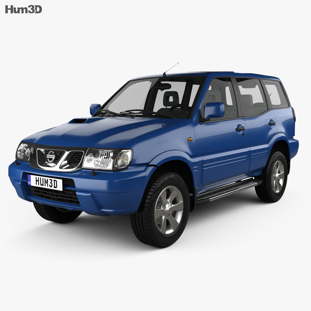 Nissan Terrano II 5-door 2006 3d model