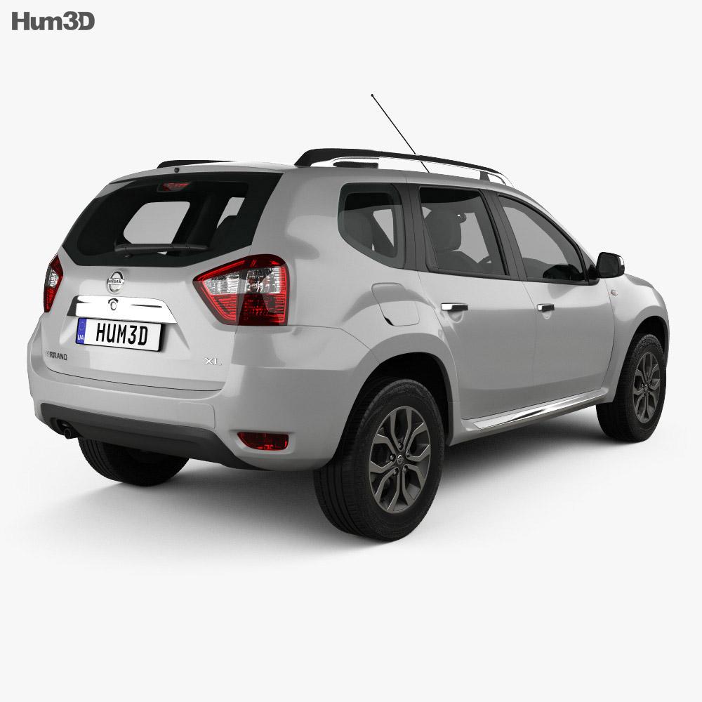 Nissan Terrano 2013 3d model