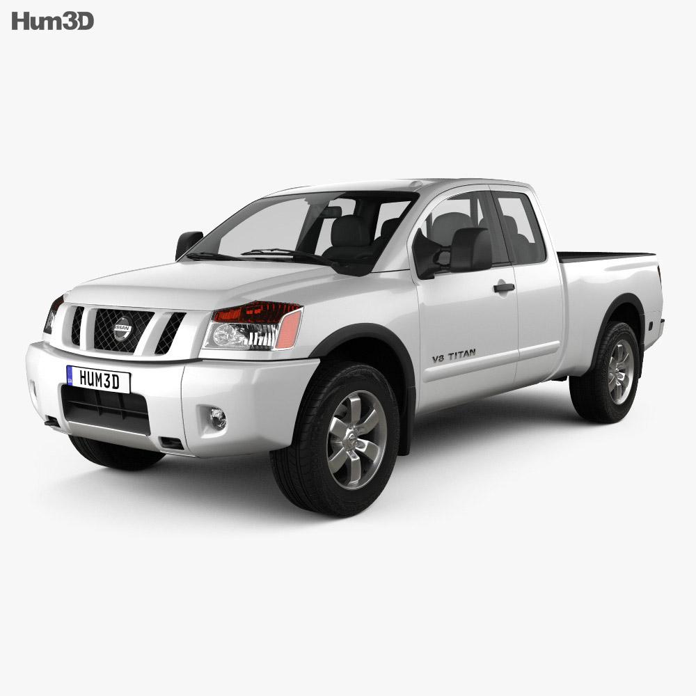 Nissan Titan 2011 3d model