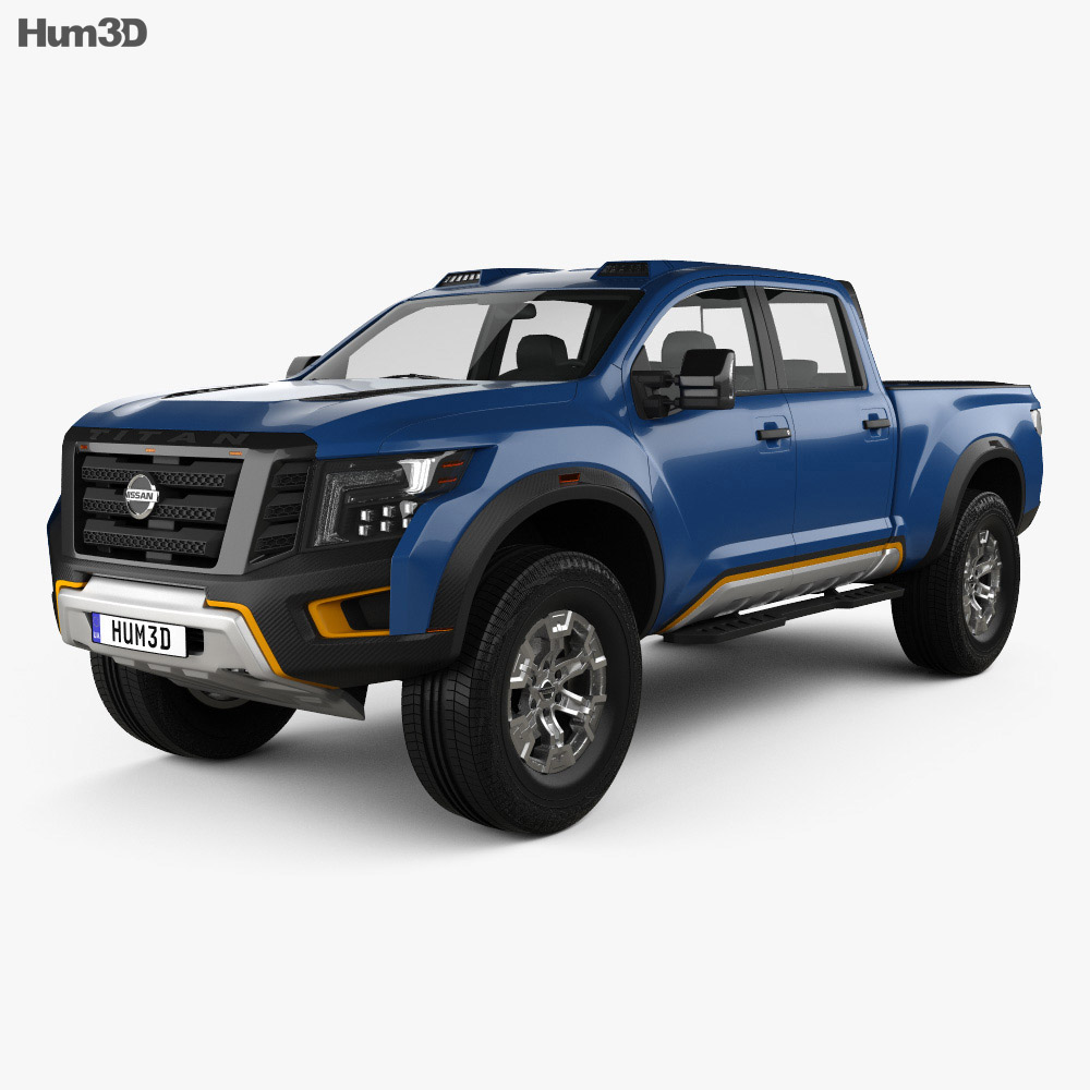 Nissan Titan Warrior 2016 3d model