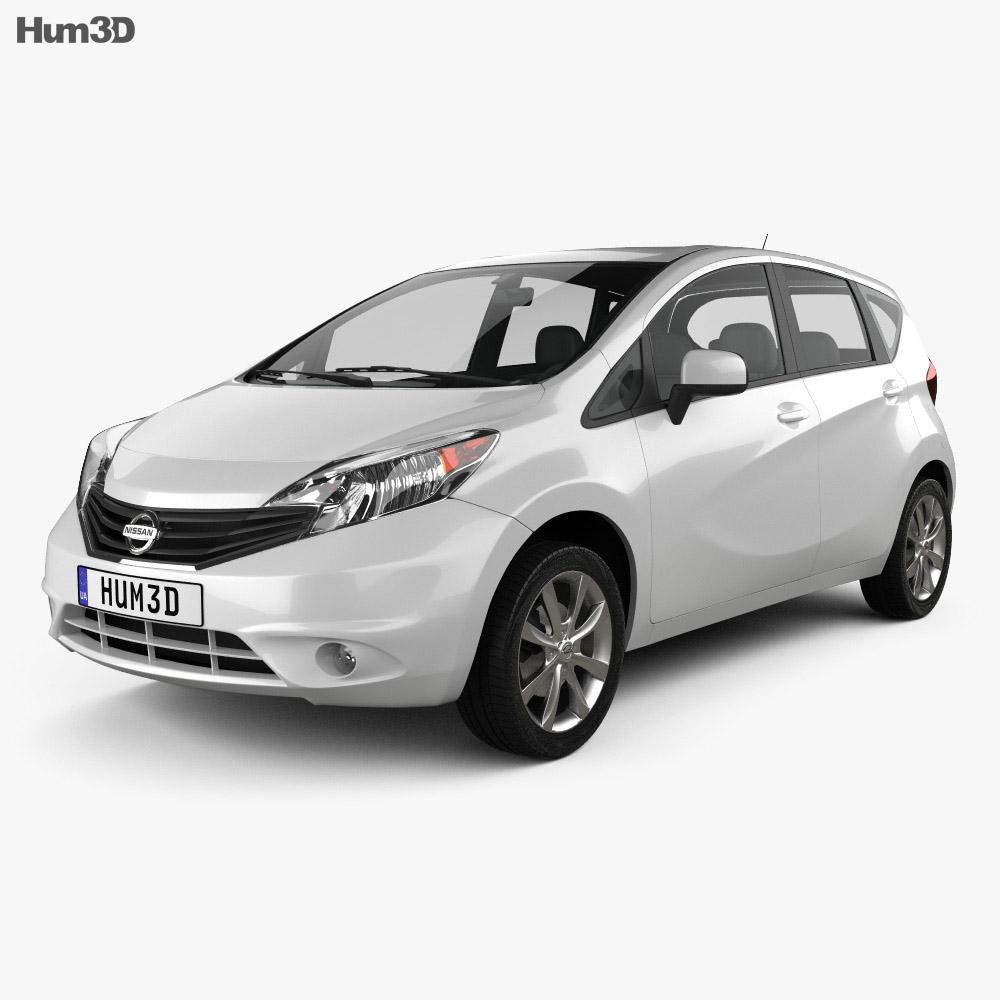 Nissan Versa Note (Livina) 2013 3d model