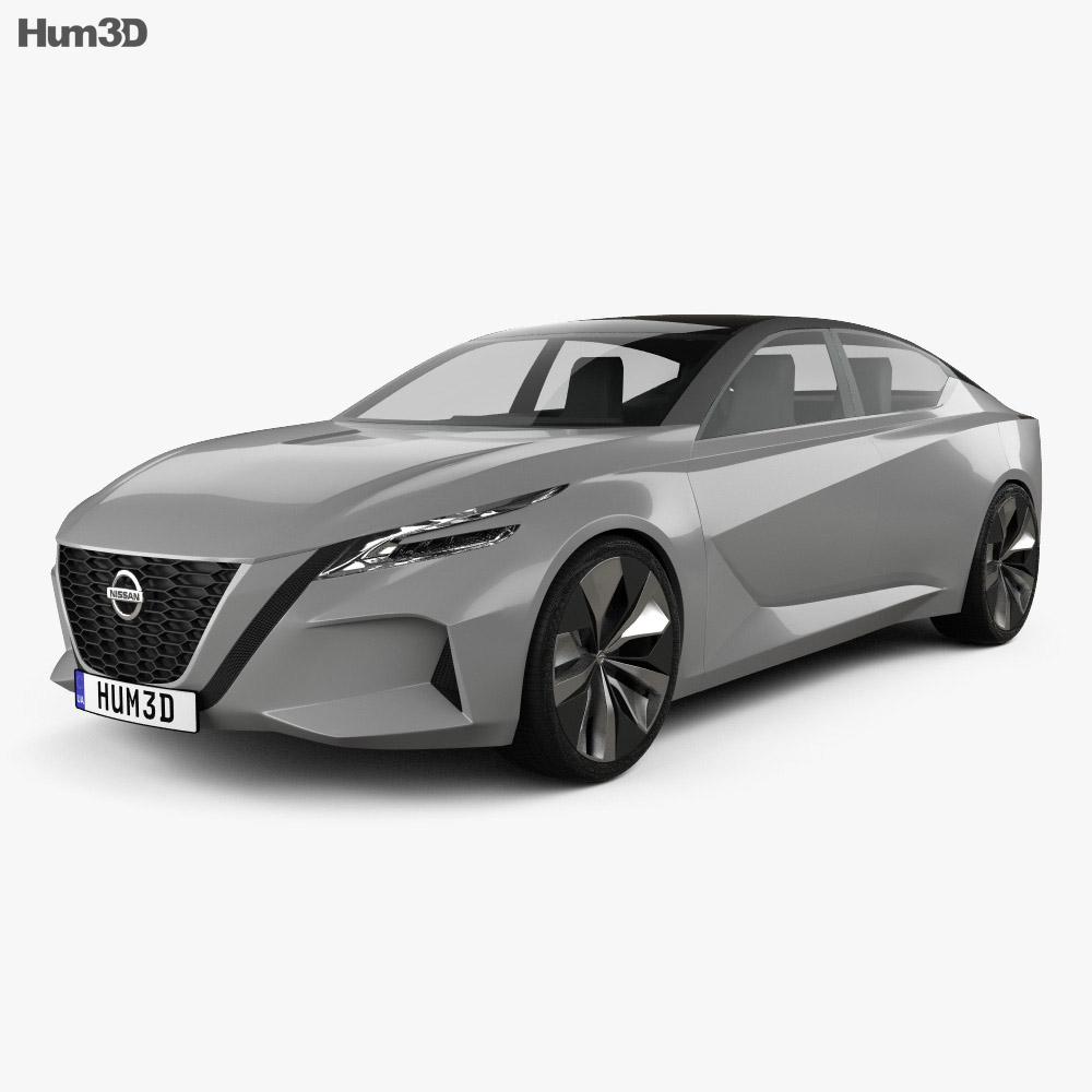Nissan Vmotion 2.0 2017 3d model