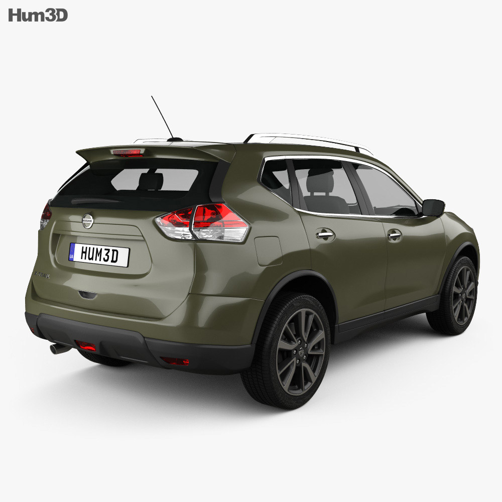 Nissan X-Trail 2015 3d model