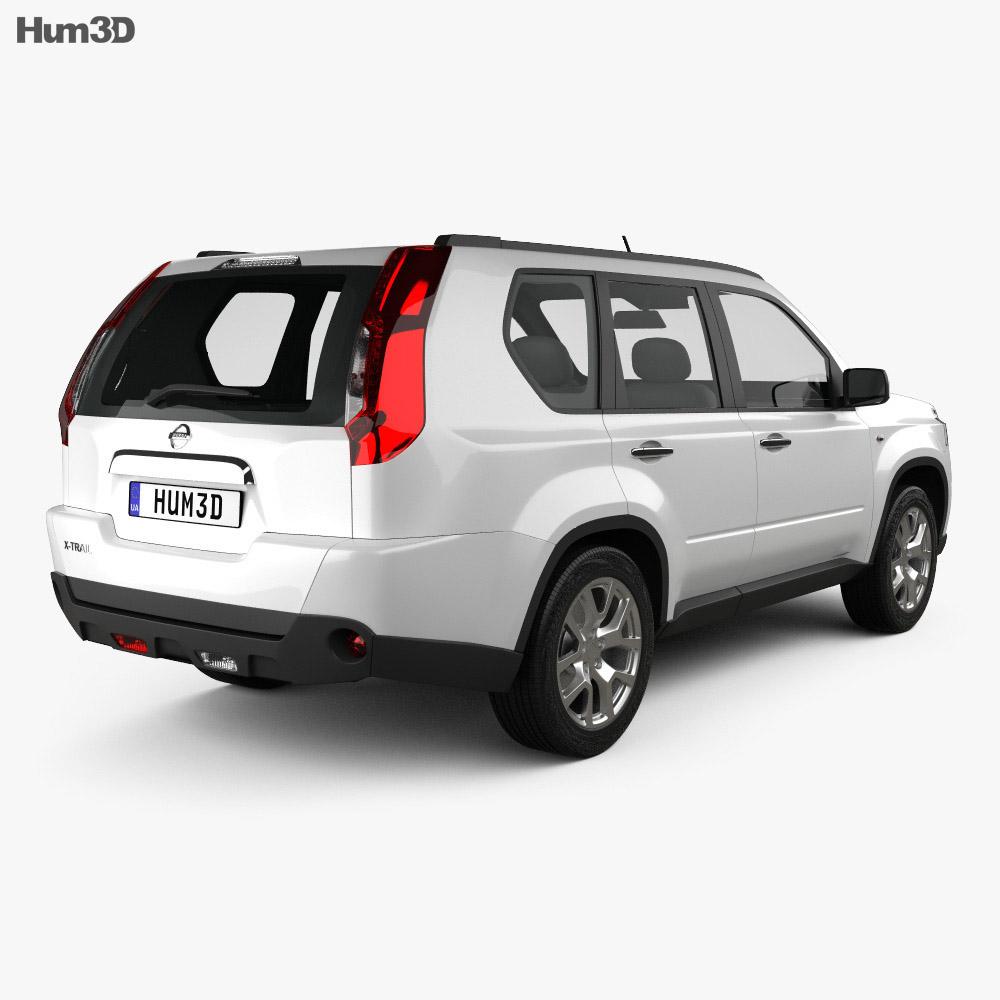 Nissan X-Trail 2011 3d model