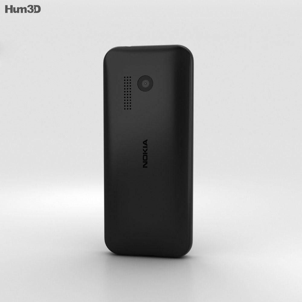 Nokia 215 Black 3d model