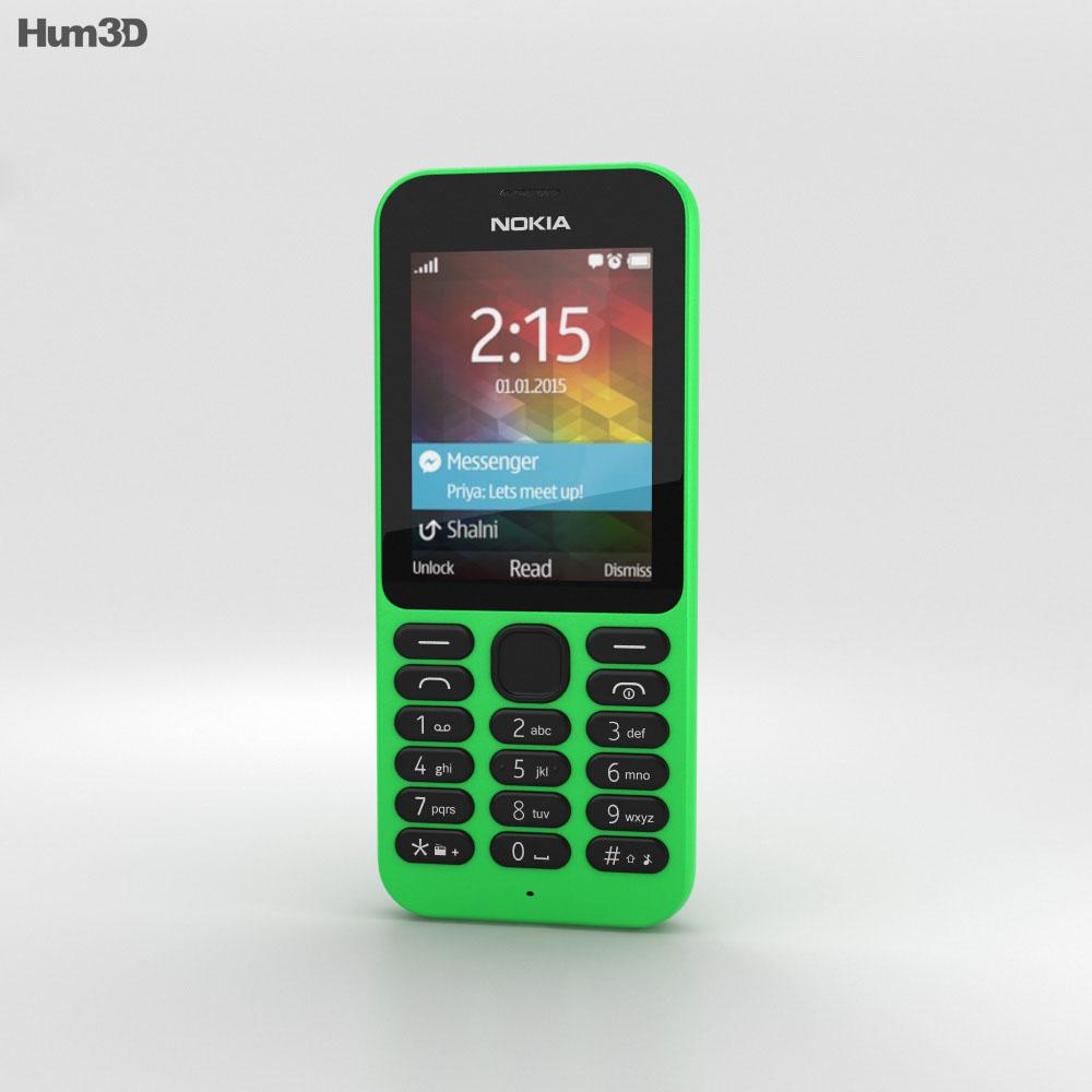 Nokia 215 Green 3d model