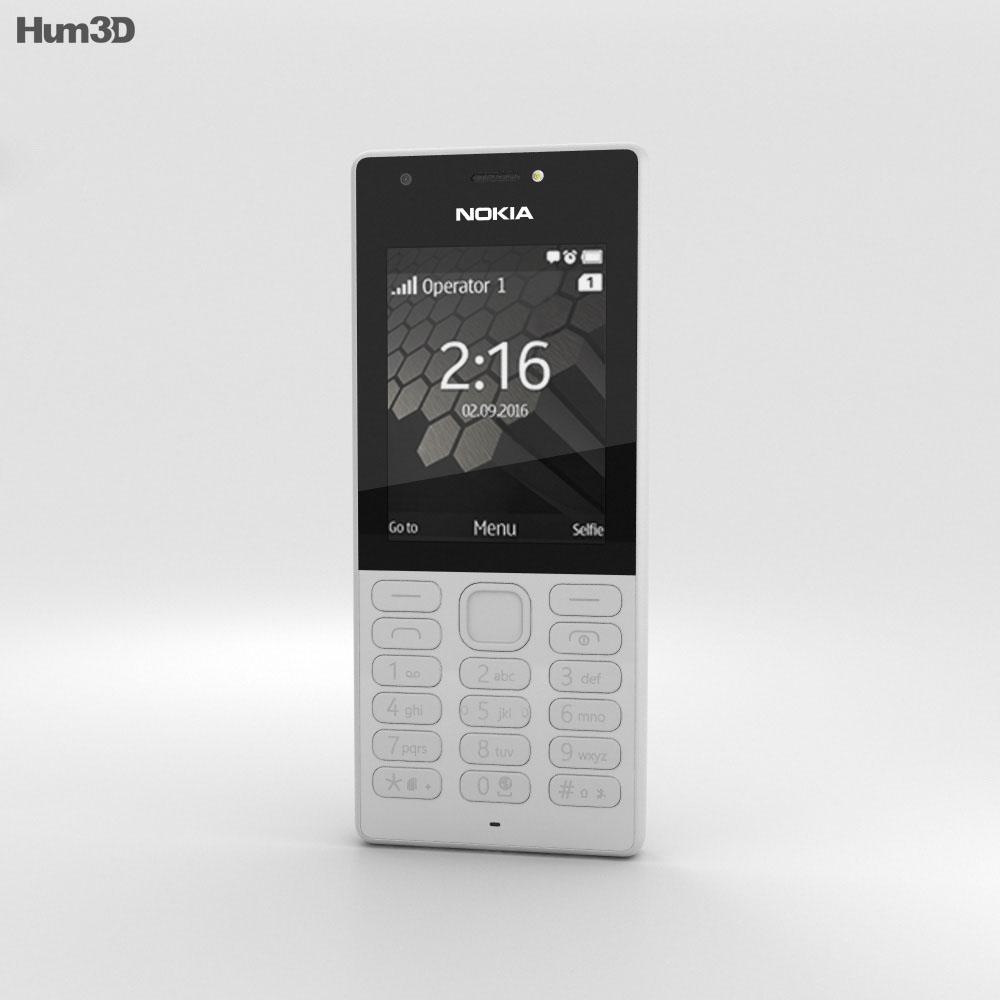 Nokia 216 Gray 3d model