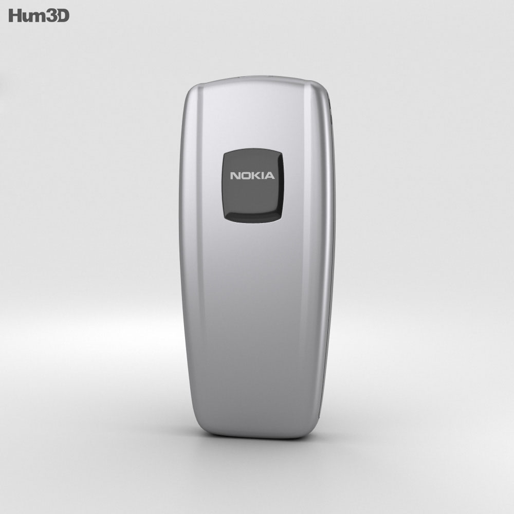 Nokia 2600 Iron Blue 3d model