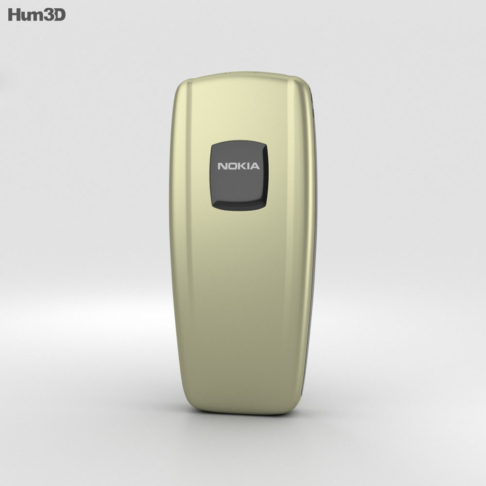 Nokia 2600 Tree Green 3d model
