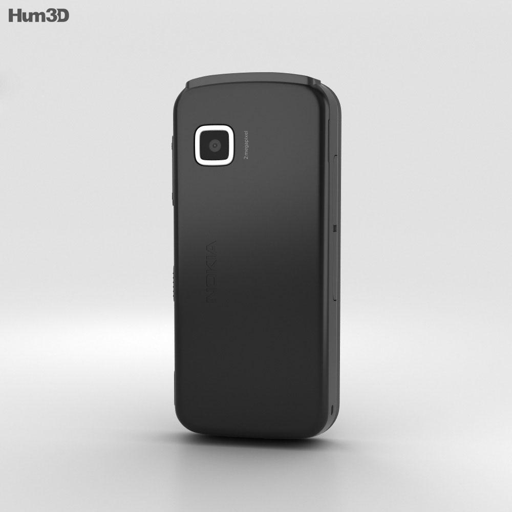 Nokia 5230 Black 3d model