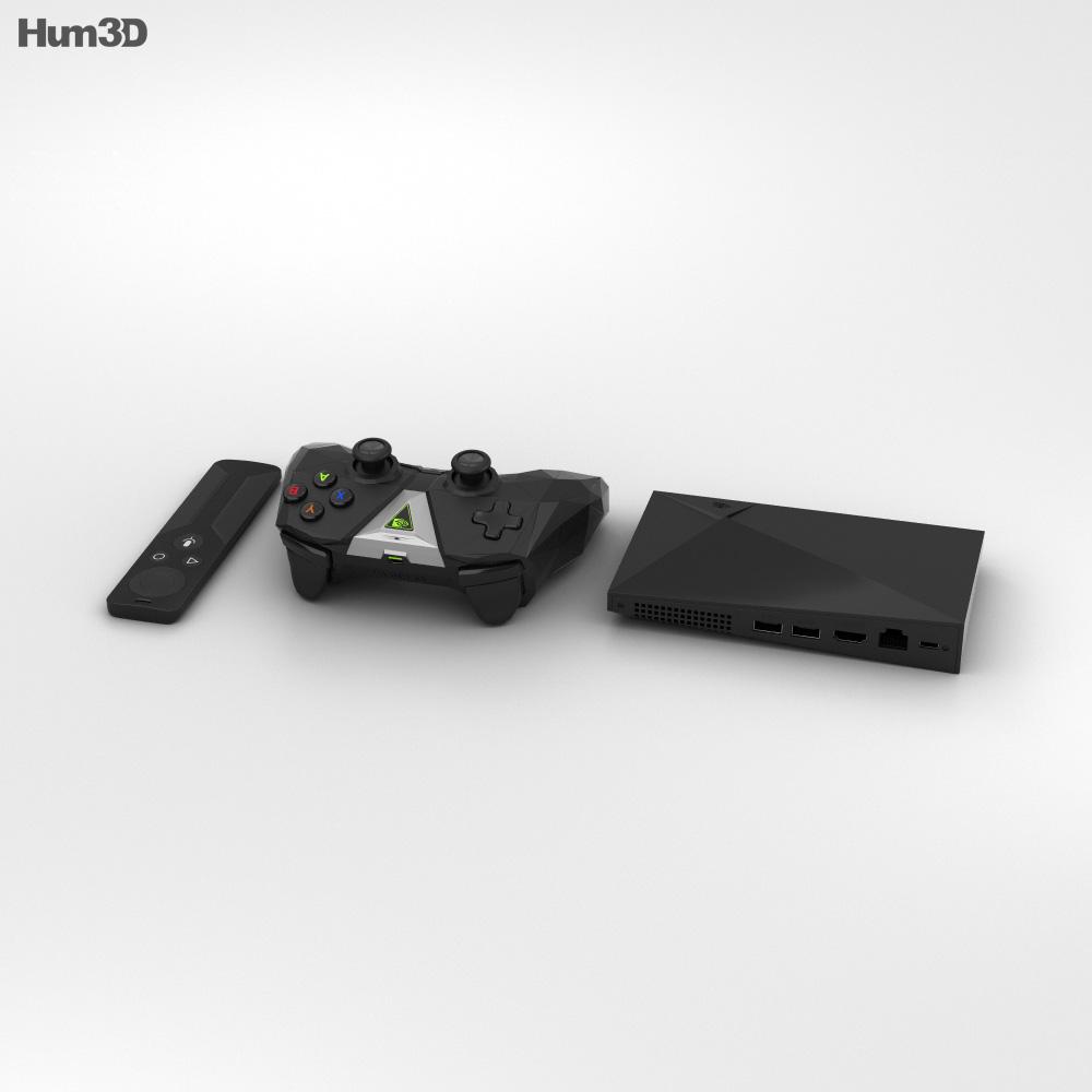 Nvidia Shield TV 3d model