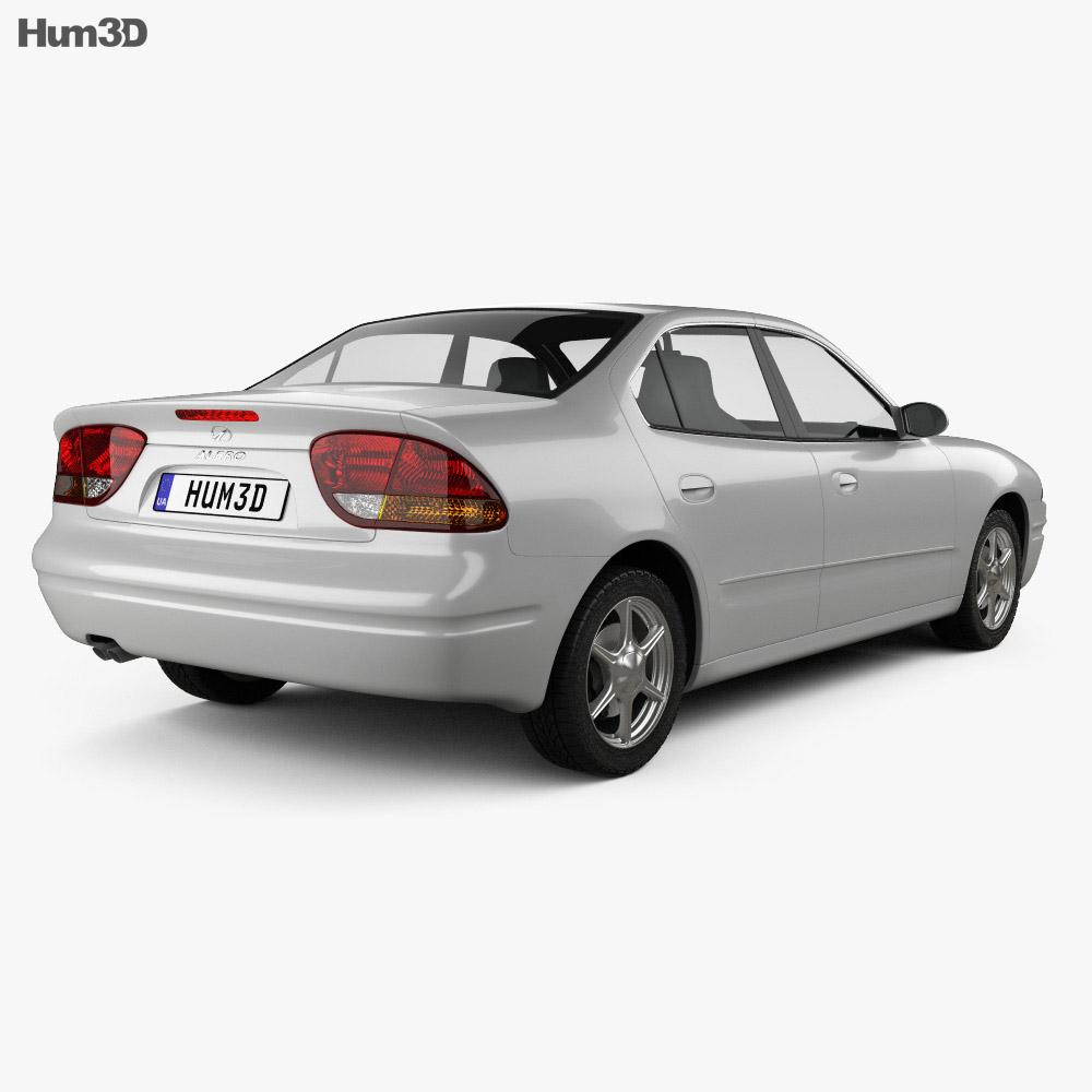 Oldsmobile Alero 1998 3d model