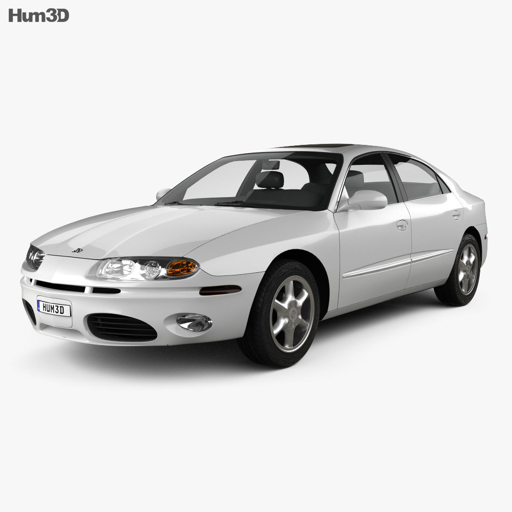 Oldsmobile Aurora 1999 3d model