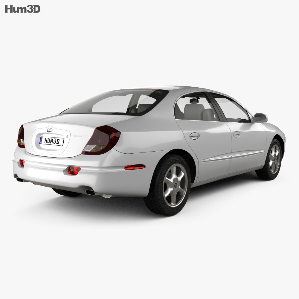 Oldsmobile Aurora with HQ interior 1999 3d model