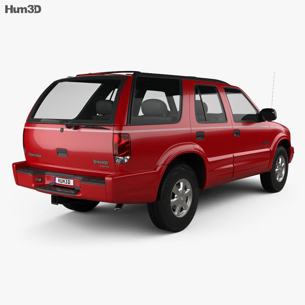 Oldsmobile Bravada 1998 3d model