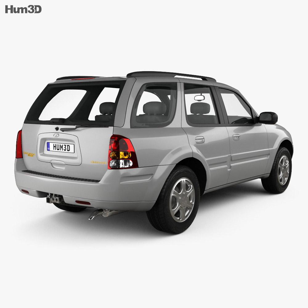 Oldsmobile Bravada 2002 3d model