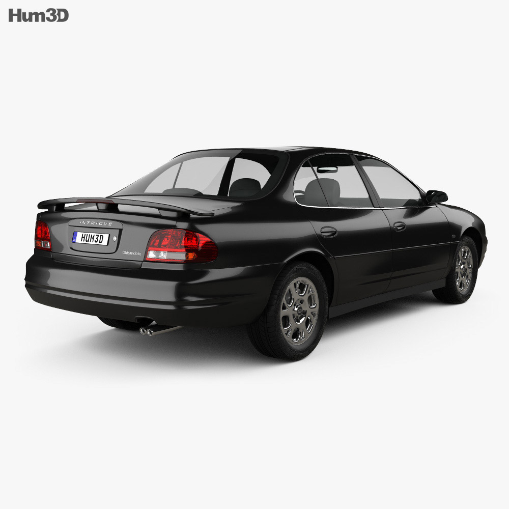 Oldsmobile Intrigue 1998 3d model