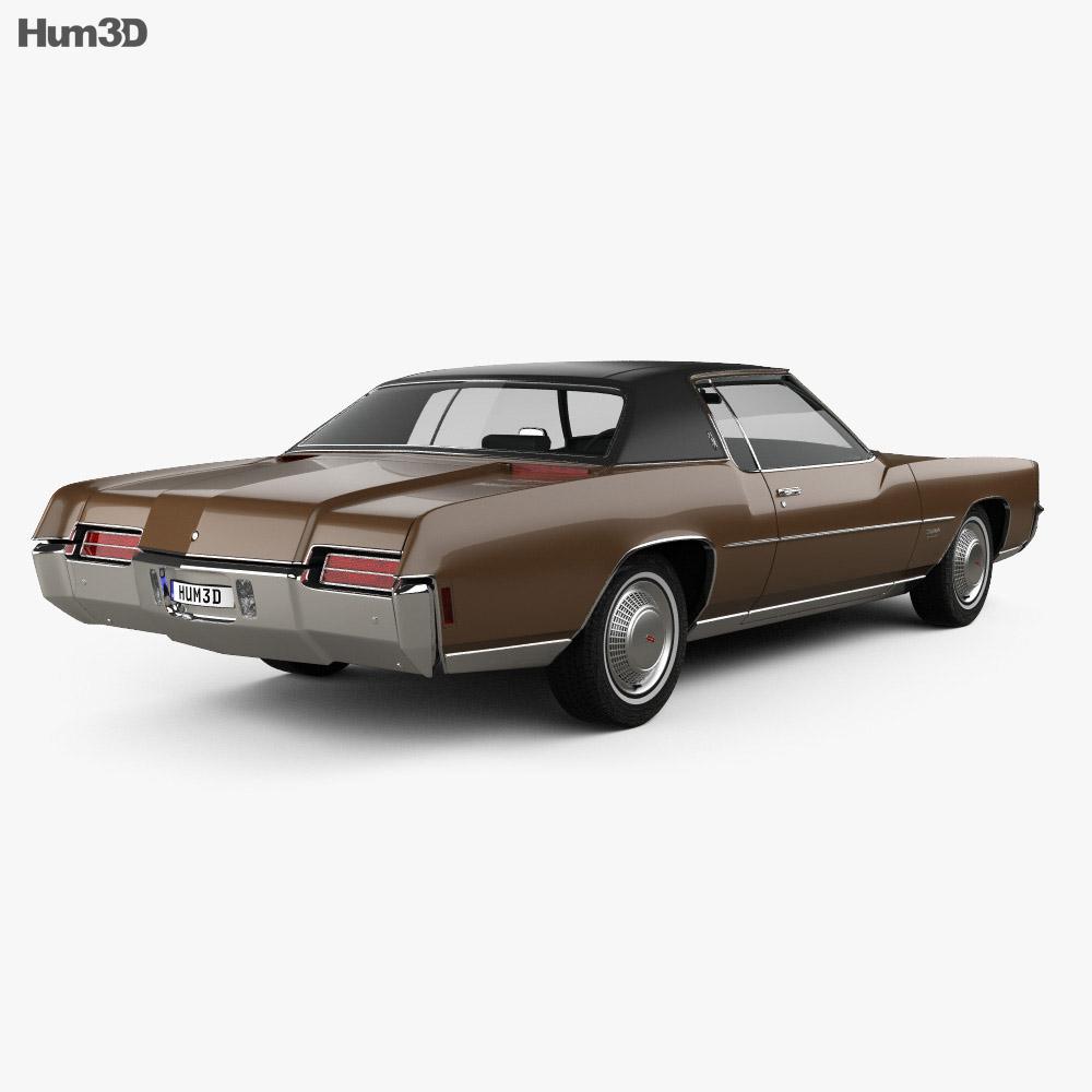 Oldsmobile Toronado (Y57) 1972 3d model