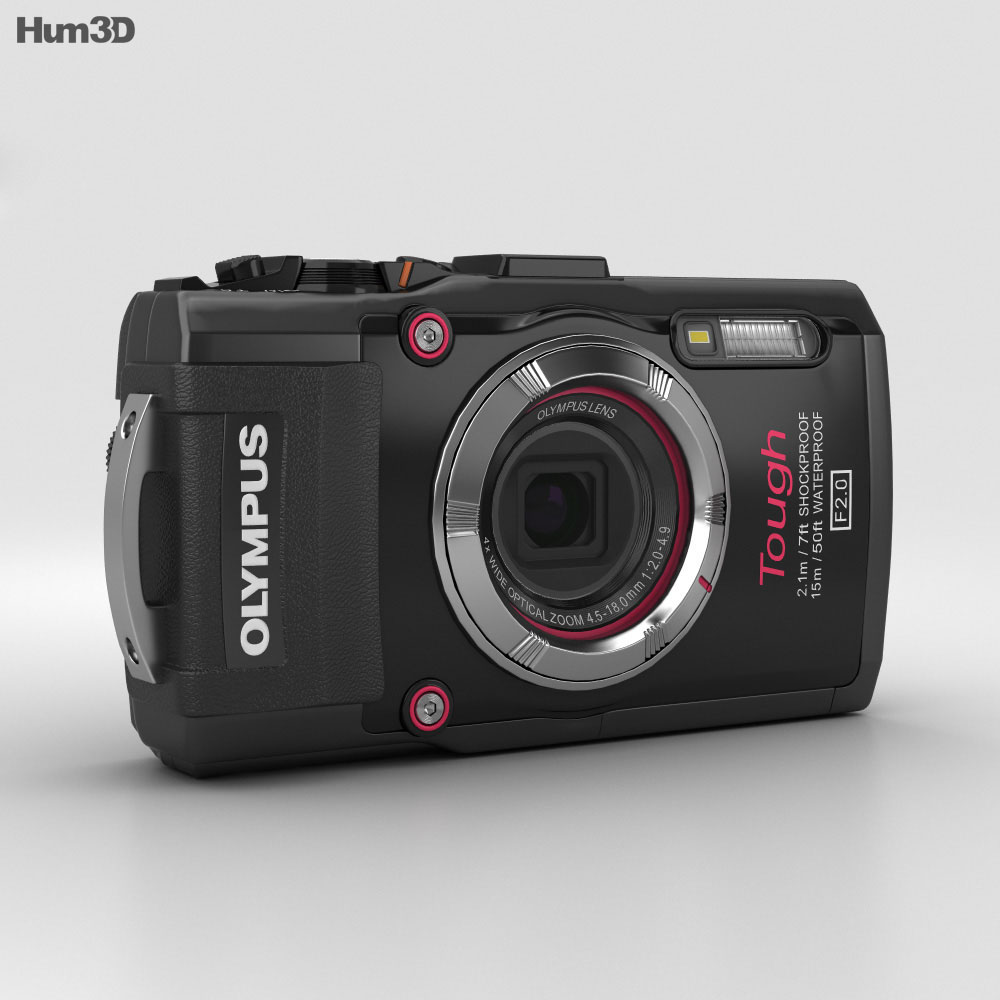 Olympus Tough TG-3 Black 3d model