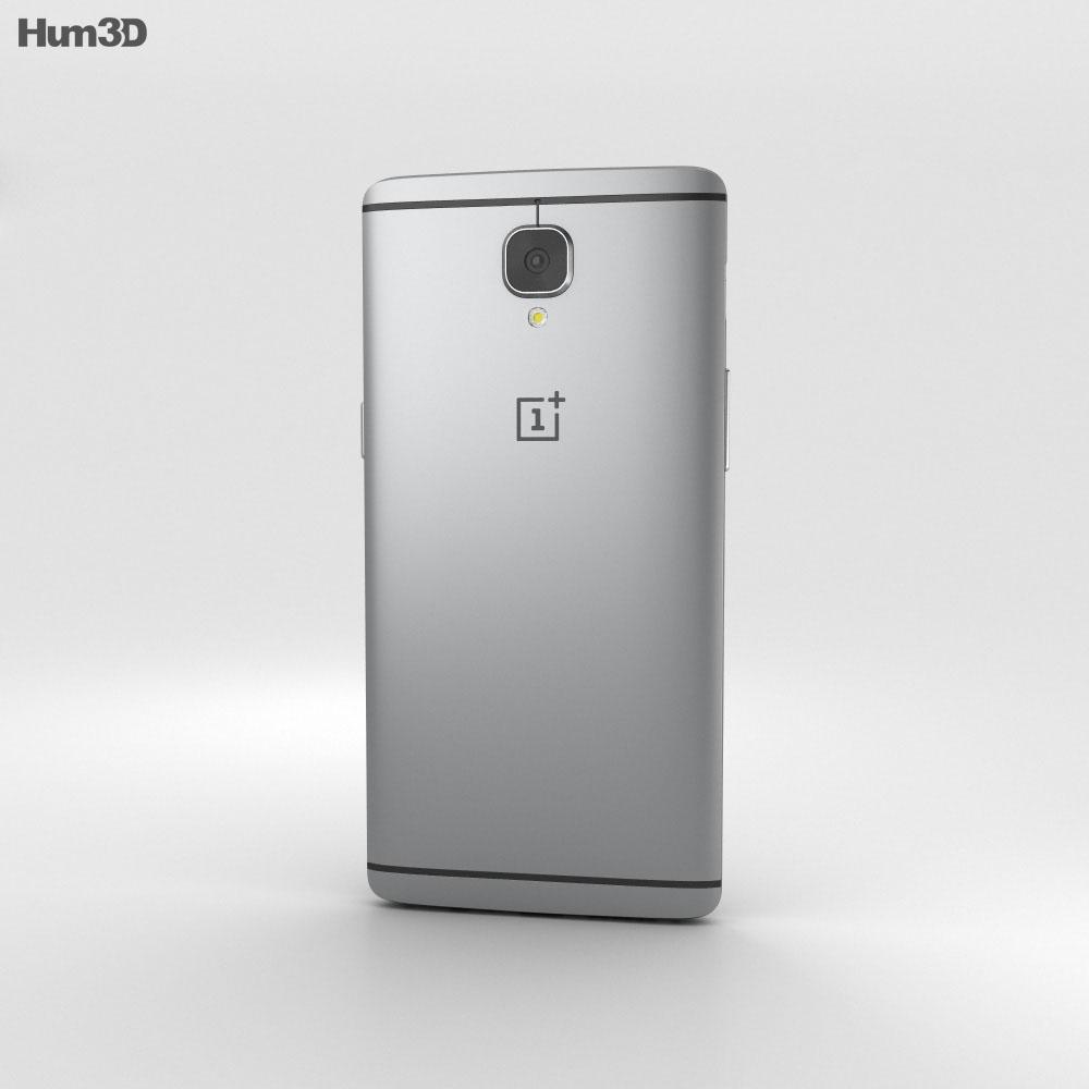 OnePlus 3 Graphite 3d model