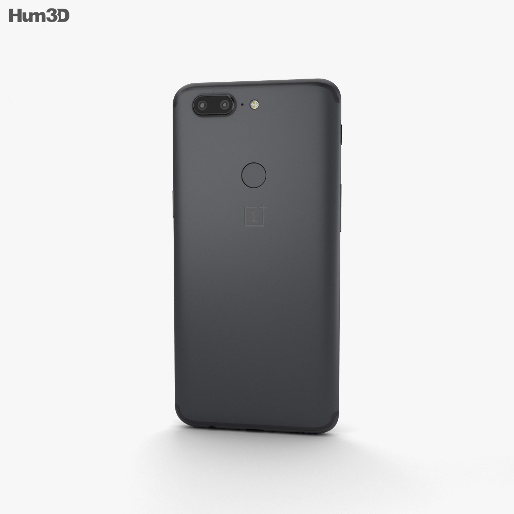 OnePlus 5T Midnight Black 3d model
