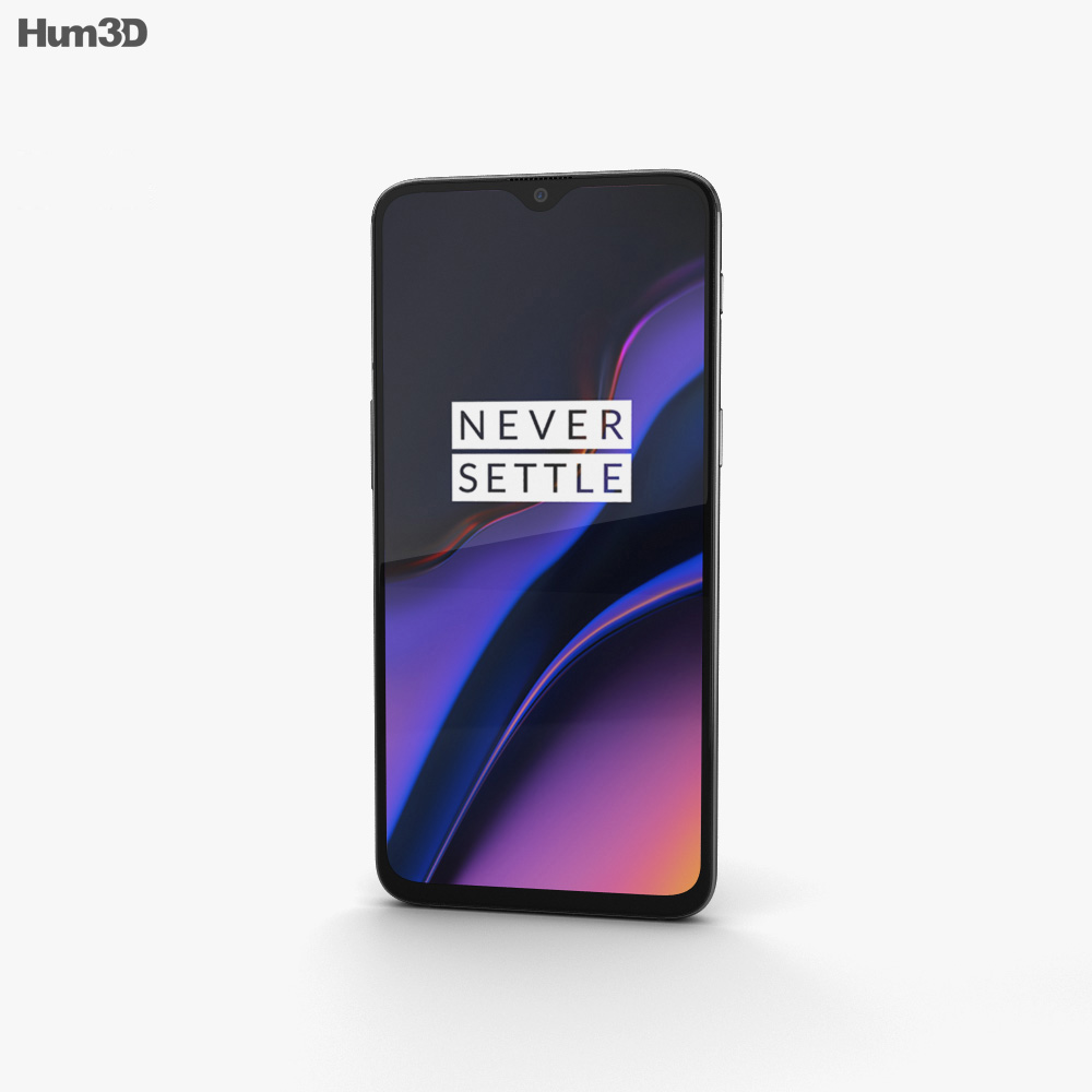 OnePlus 6T Midnight Black 3d model