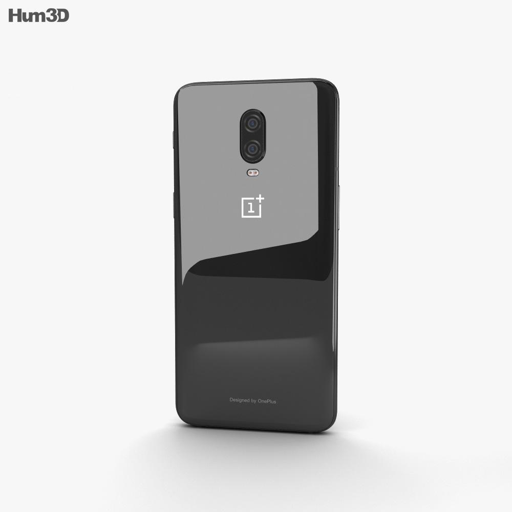 OnePlus 6T Mirror Black 3d model
