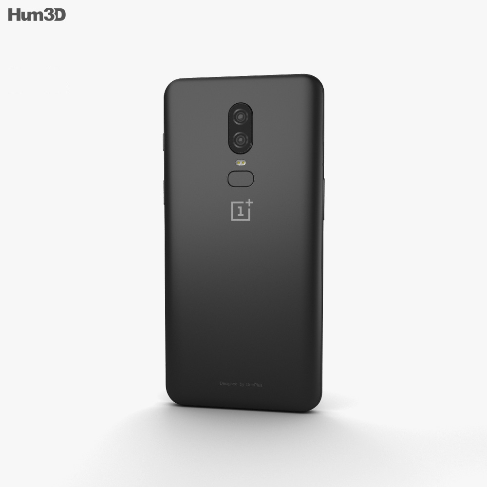 OnePlus 6 Midnight Black 3d model
