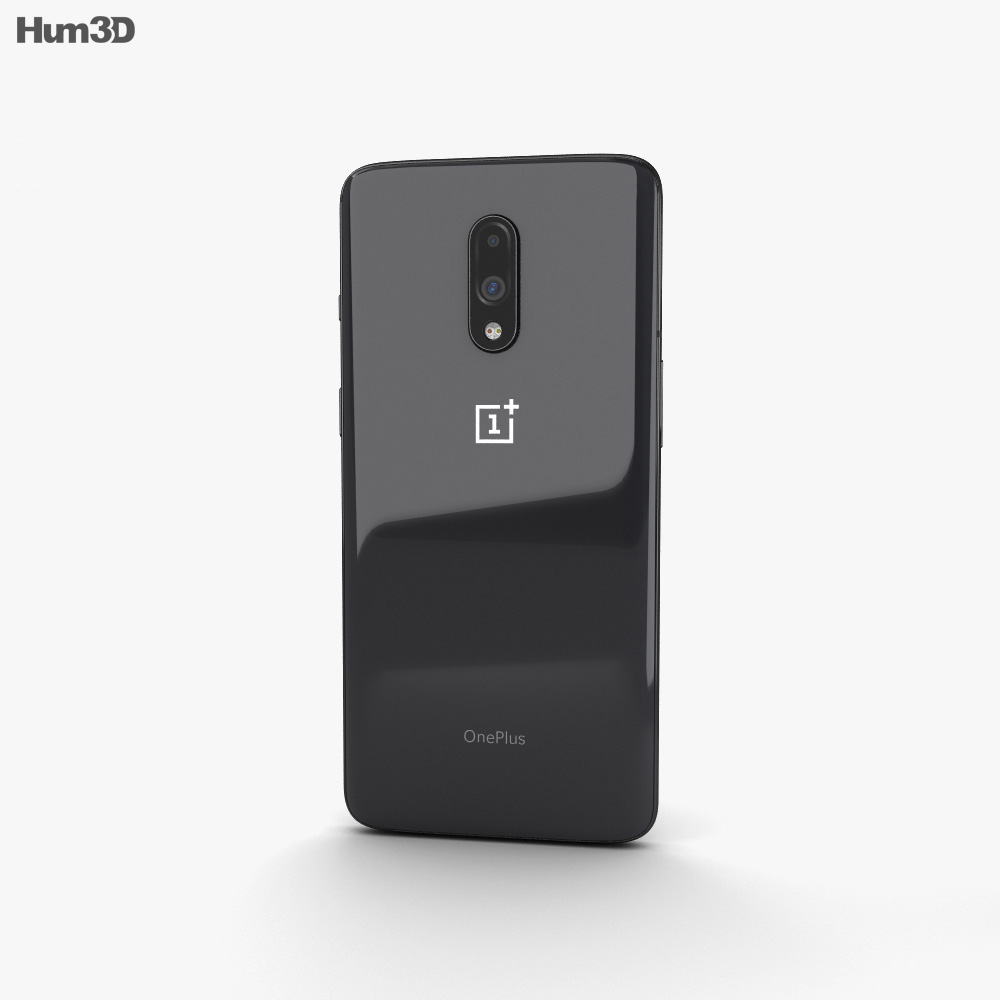OnePlus 7 Mirror Gray 3d model
