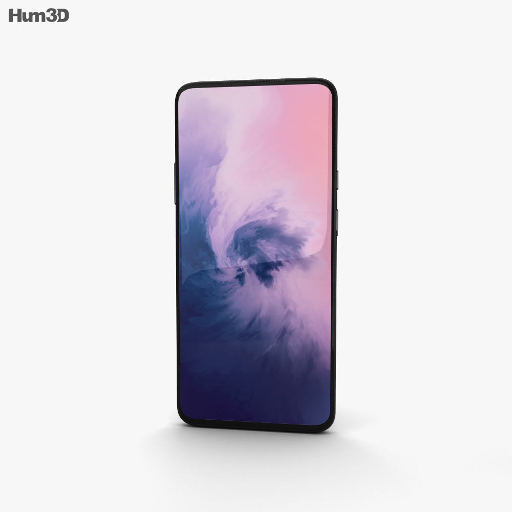 OnePlus 7 Pro Mirror Grey 3d model