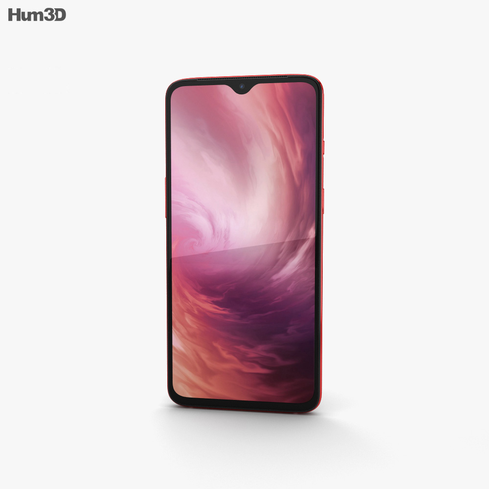 OnePlus 7 Red 3d model