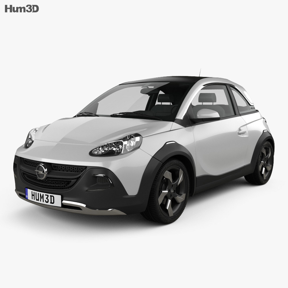 Opel Adam Rocks concept 2013 3d model