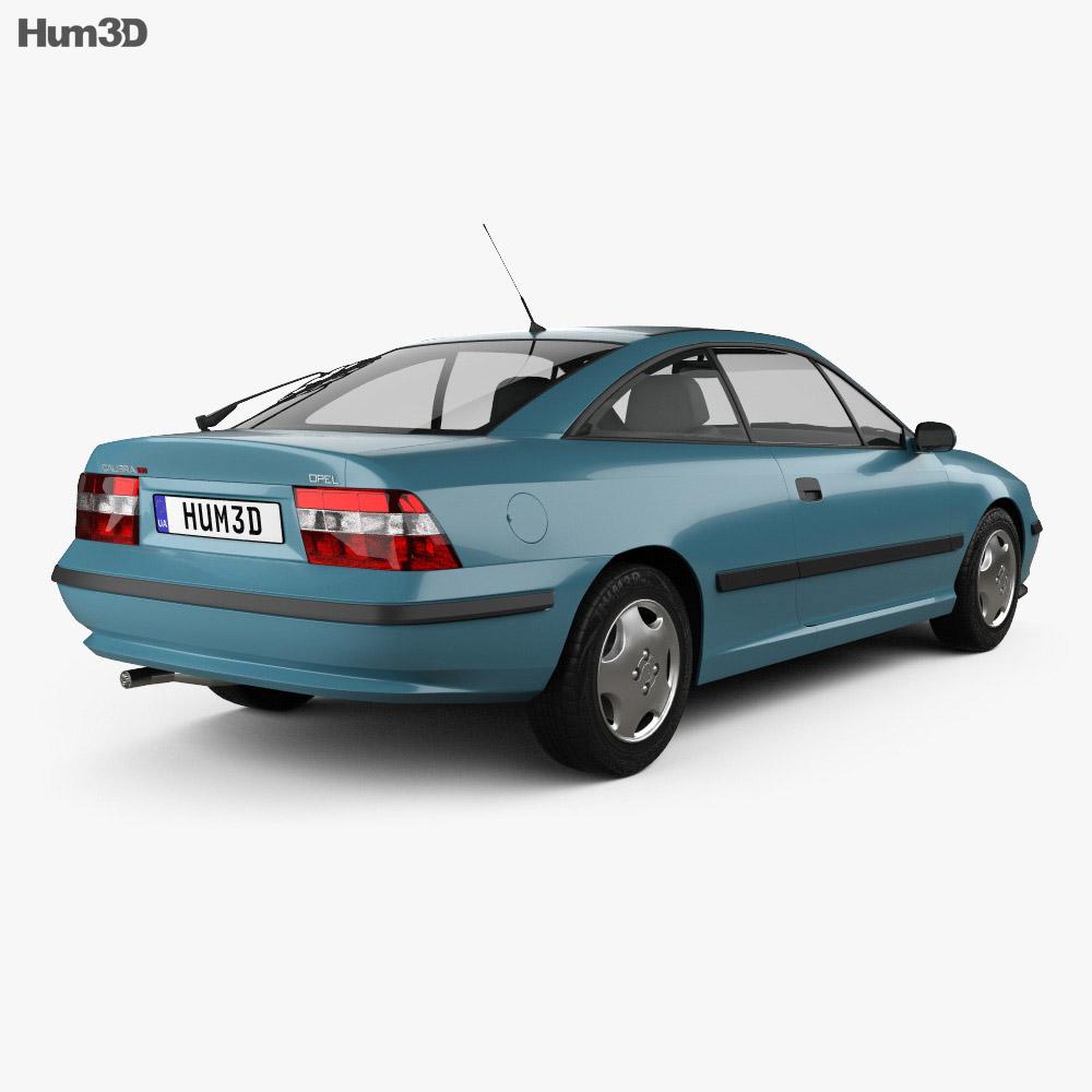 Opel Calibra 1990 3d model