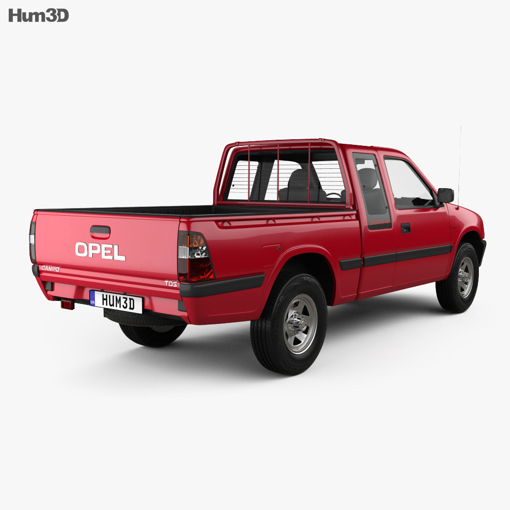 Opel Campo Sports Cab 1997 3d model