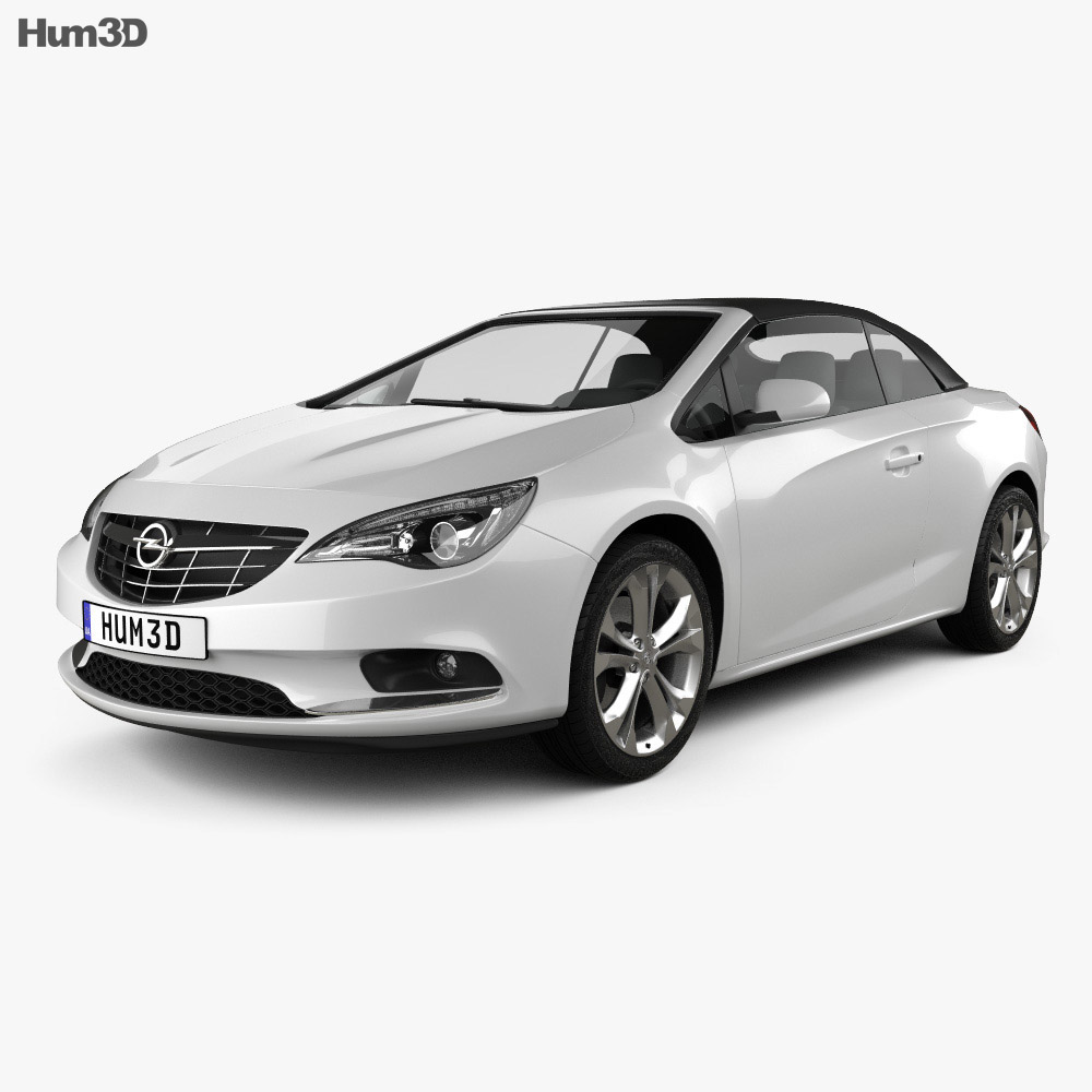 Opel Cascada (Cabrio) 2013 3d model