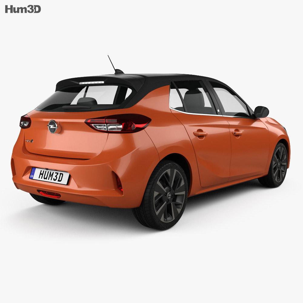 Opel Corsa-e 2020 3d model