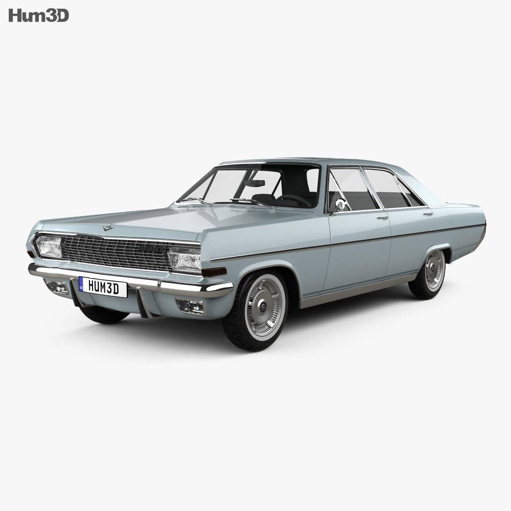 Opel Diplomat (A) 1964 3d model