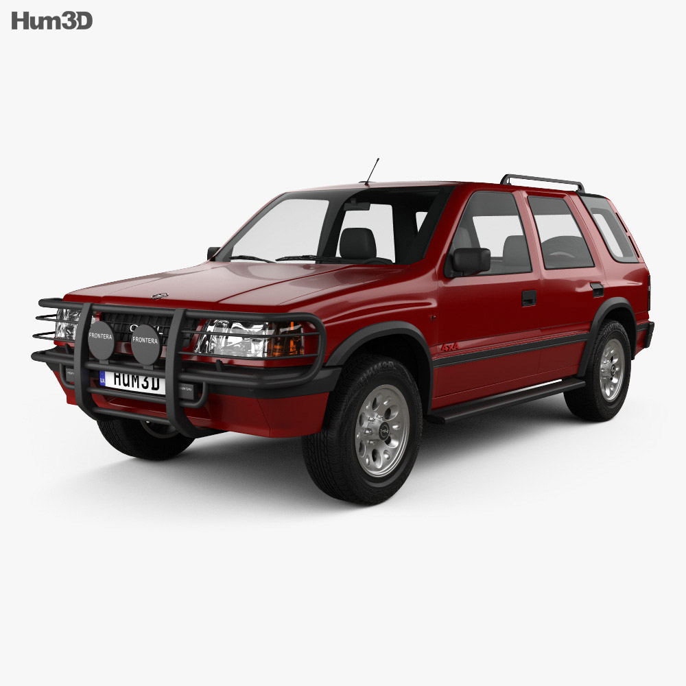 opel frontera a 5 door 1992 3d model vehicles on hum3d. Black Bedroom Furniture Sets. Home Design Ideas