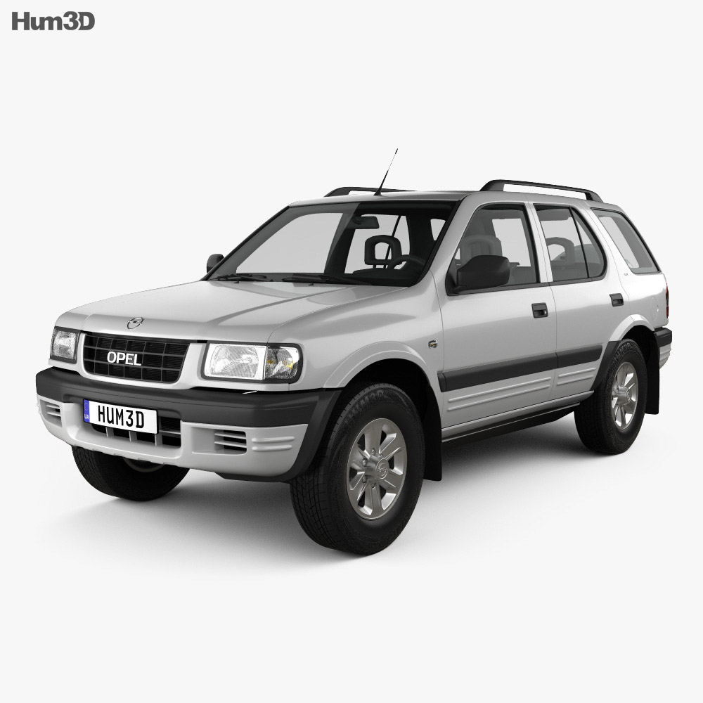 opel frontera b 1998 3d model vehicles on hum3d. Black Bedroom Furniture Sets. Home Design Ideas
