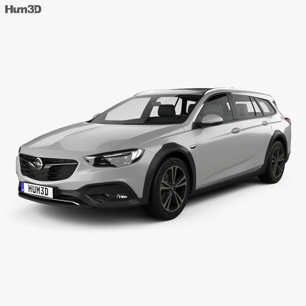 Opel Insignia Country Tourer 2017 3d model