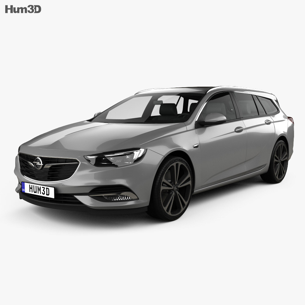 opel insignia sports tourer turbo 4 4 2017 3d model vehicles on hum3d. Black Bedroom Furniture Sets. Home Design Ideas