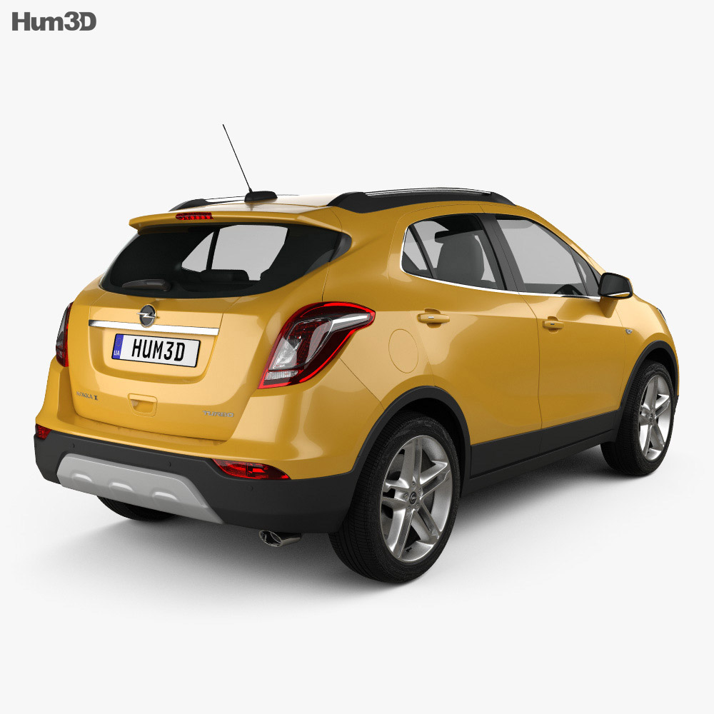 opel mokka x 2017 3d model vehicles on hum3d. Black Bedroom Furniture Sets. Home Design Ideas