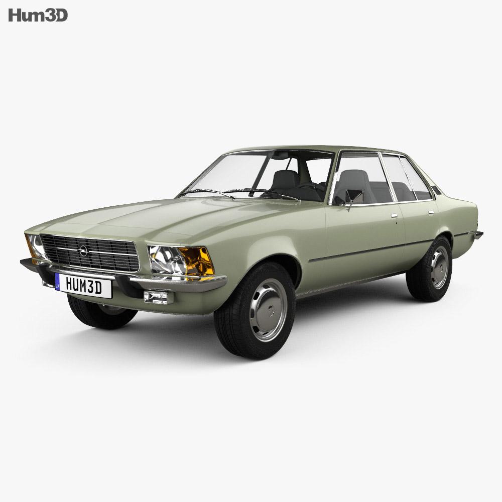 Opel Rekord (D) 1972 3d model