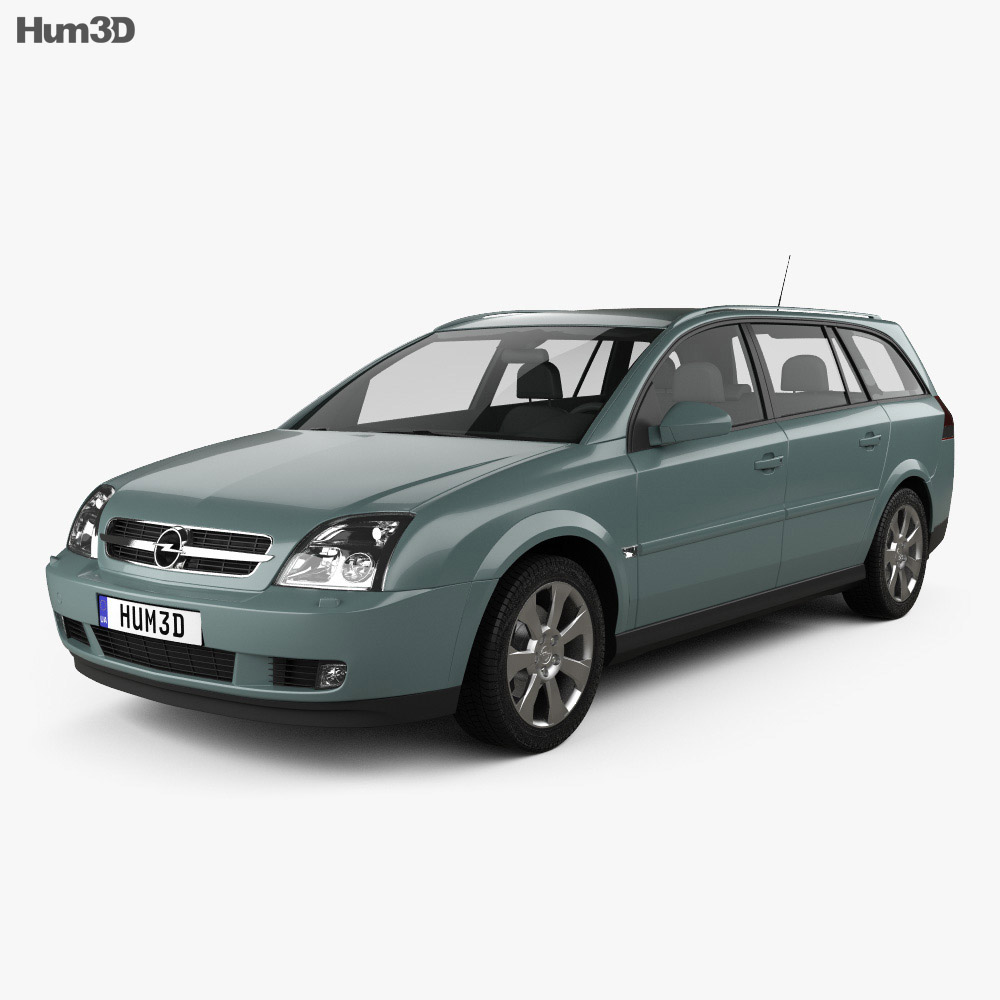 opel vectra caravan 2002 3d model vehicles on hum3d. Black Bedroom Furniture Sets. Home Design Ideas