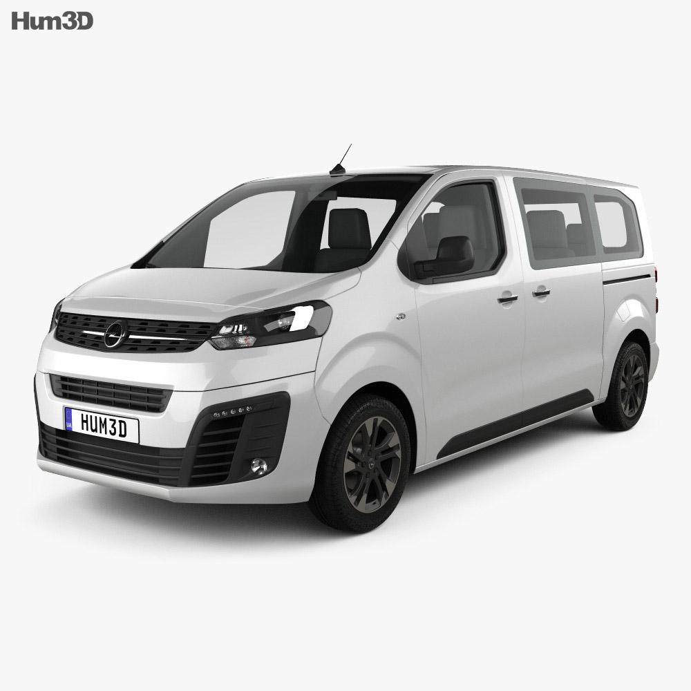 Opel Zafira Life 2019 3d model