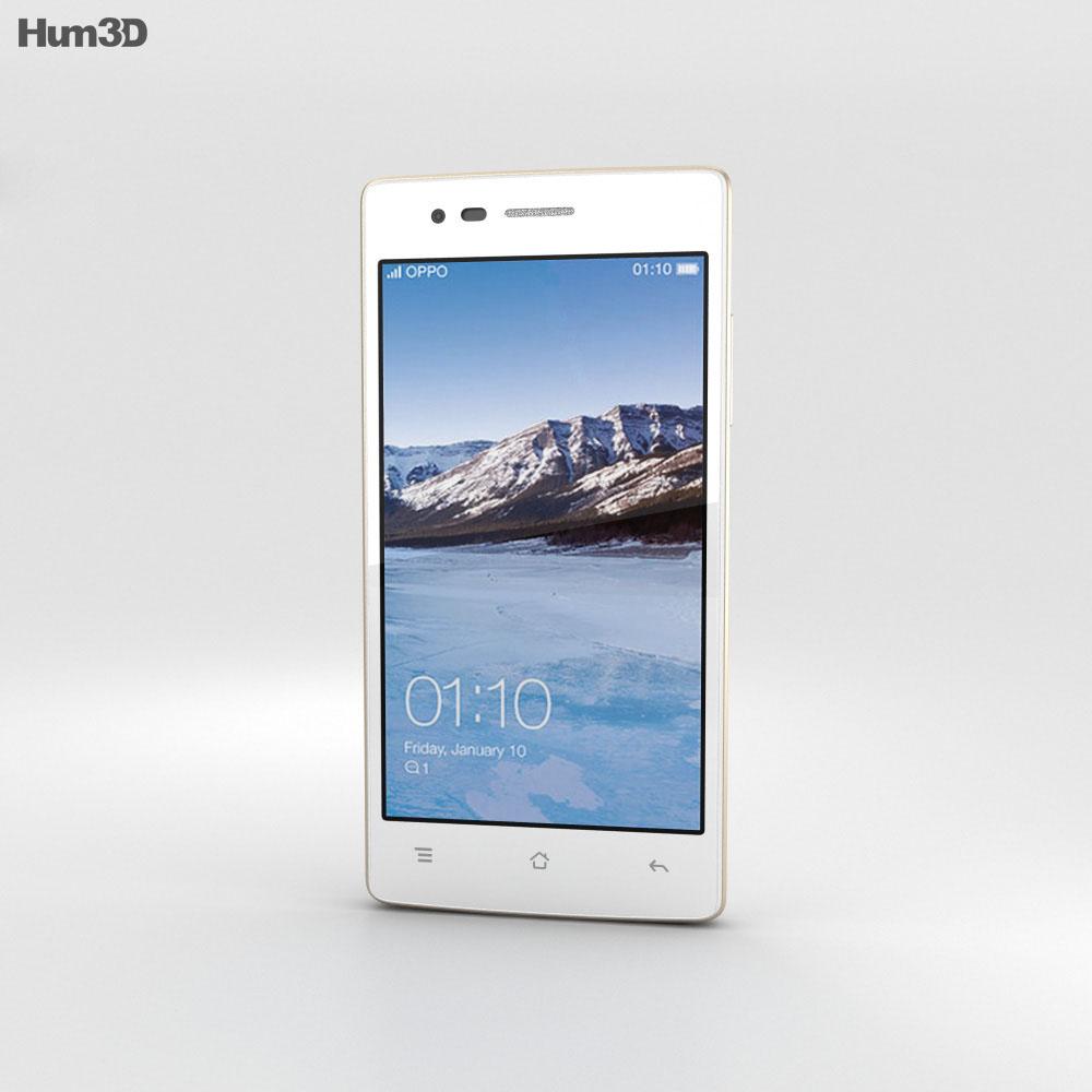 Oppo Neo 5 White 3d model