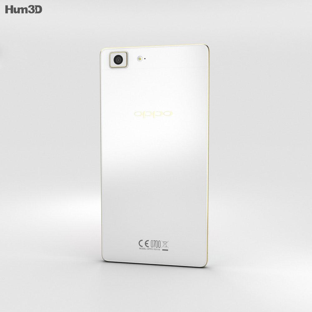 Oppo R5 Gold 3d model