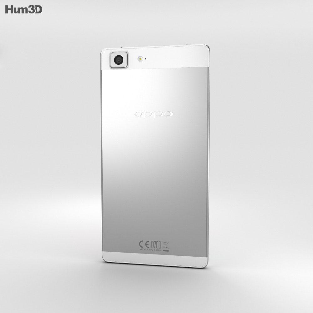 Oppo R5 Silver 3d model