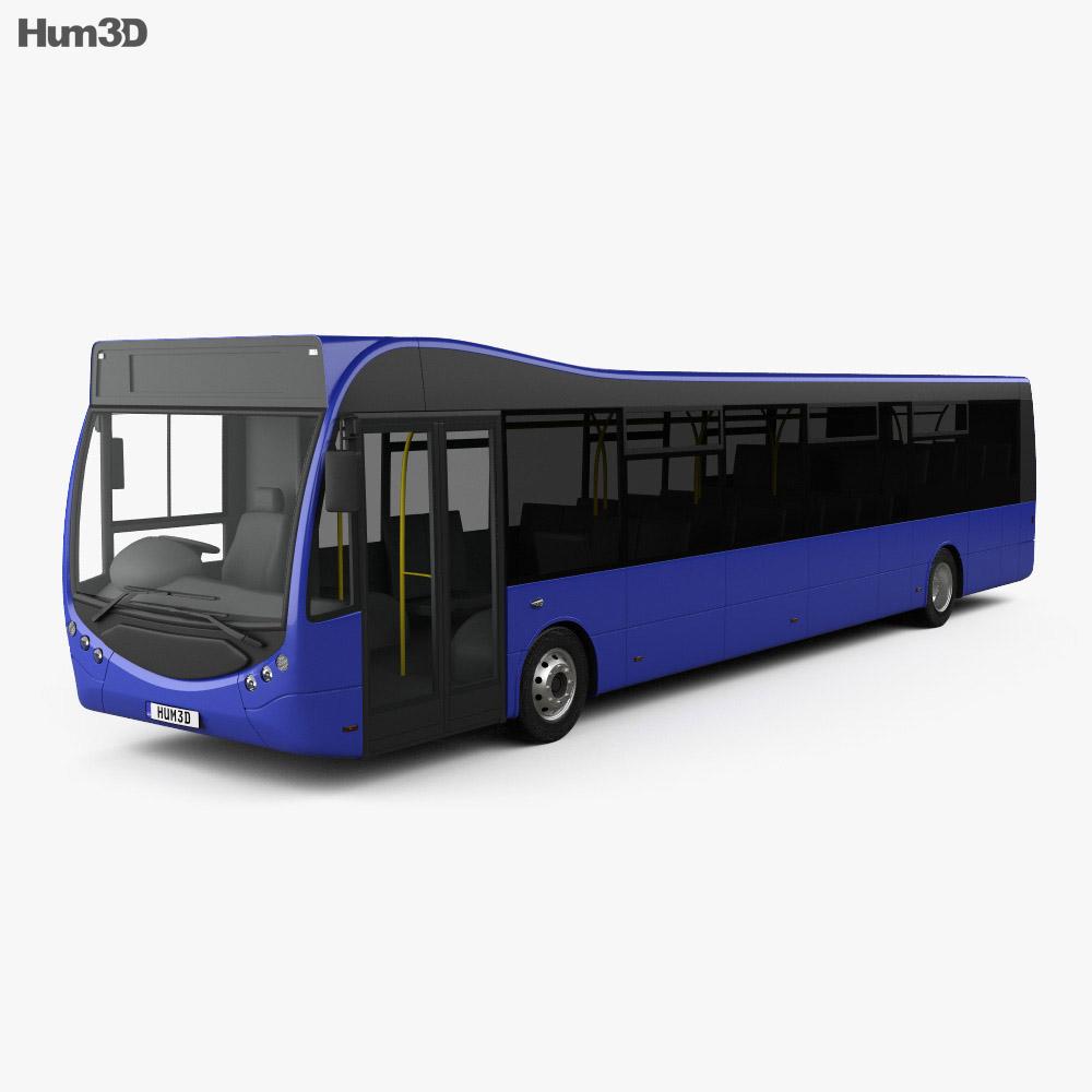 Optare MetroCity Bus 2012 3d model
